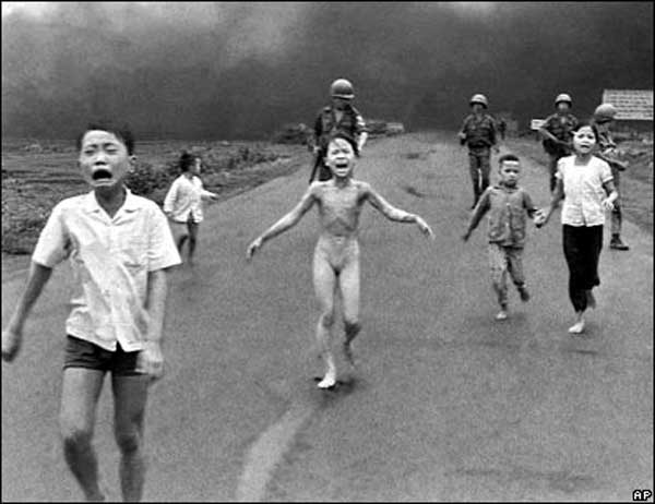 Napalm bombing