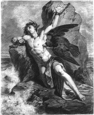 Prometheus Bound of Æschylus