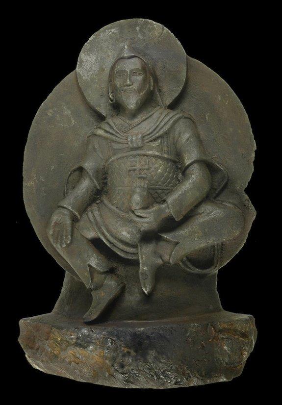 Meteorite-buddha